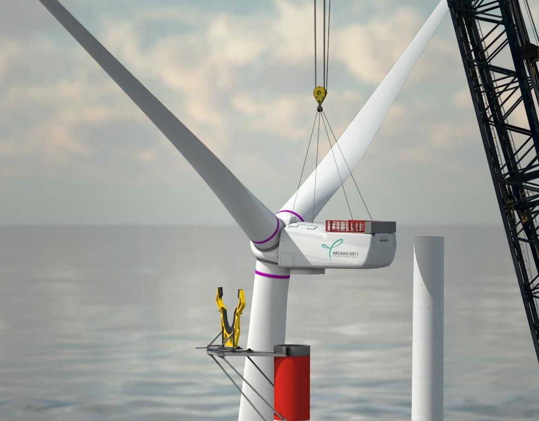 Heerema gaat drijvend windturbines installeren in Duits windpark