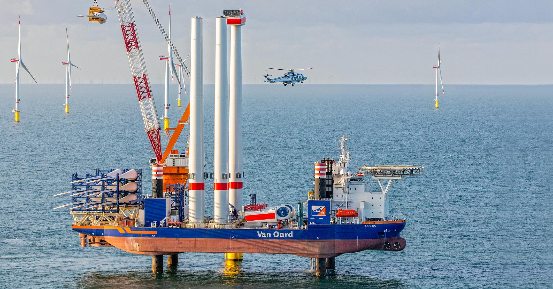 DHSS gaat helikoptervluchten verzorgen voor Borssele III & IV
