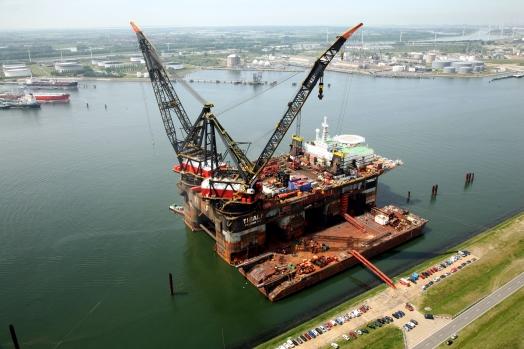 Windpark gaat groene energie leveren aan offshore schepen