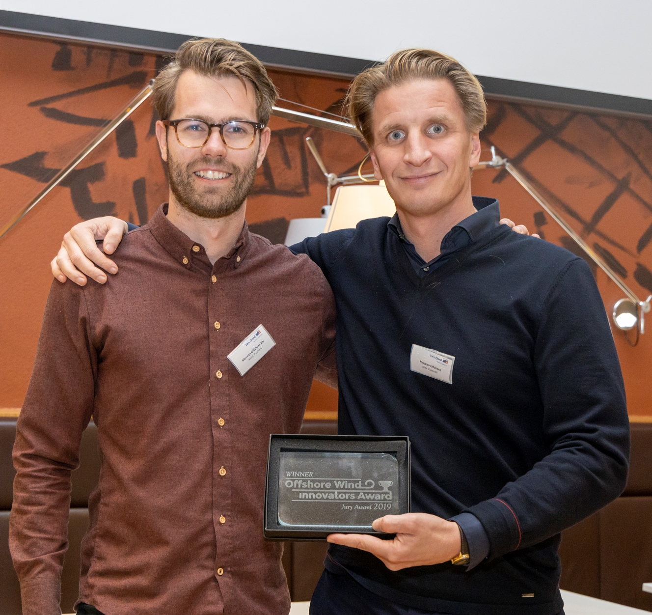 MO4 en Seaqualize Offshore Wind Innovation Award 2019 winnaars