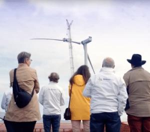 Eerste turbine Windpark Avri levert stroom