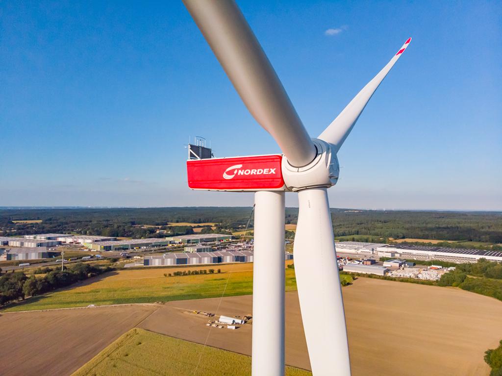 Nordex ontving 6,2 GW aan windturbineorders in 2019