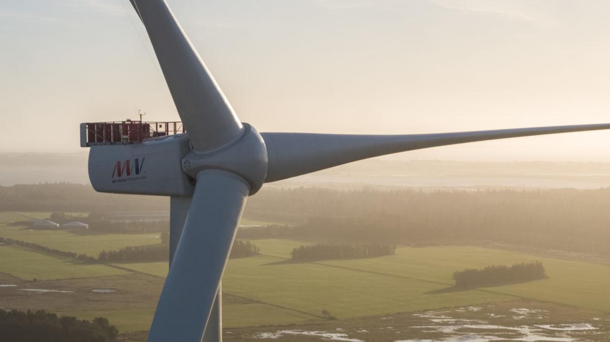 MHI Vestas installeert prototype 9,5 MW windturbine