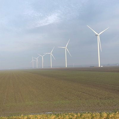 Windpark Waardpolder is operationeel