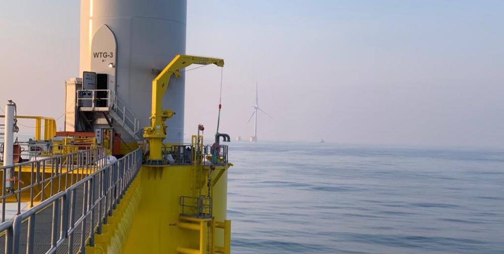 Drijvend offshore windpark WindFloat Atlantic levert eerste stroom