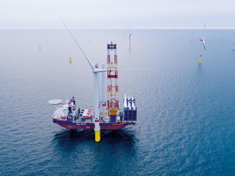 Van Oord ondanks daling in omzet in 2019 positief over offshore wind