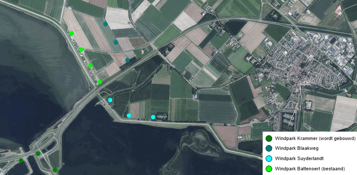Start civiele werkzaamheden Windpark Suyderlandt