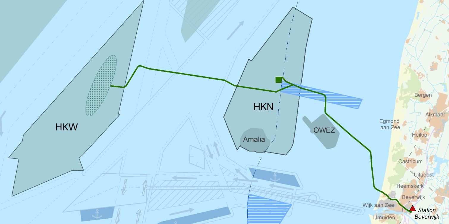 Groen licht voor Net op zee Hollandse Kust (noord) en Hollandse Kust (west Alpha)