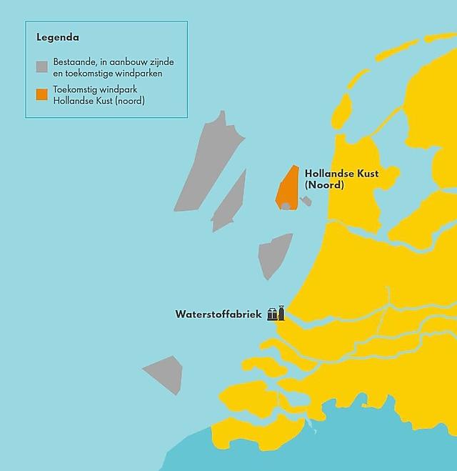 Shell en Eneco dingen samen mee naar Hollandse Kust (noord)