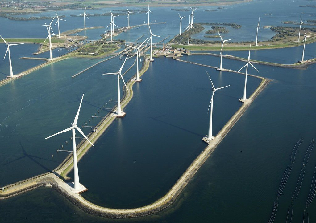 Deel van opbrengst Windpark Krammer naar CO2 opslag