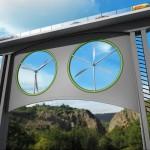 Hoge bruggen kunnen windenergie opwekken