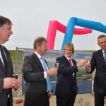 Bouw (Nederlands grootste) windpark Zuidwester van start