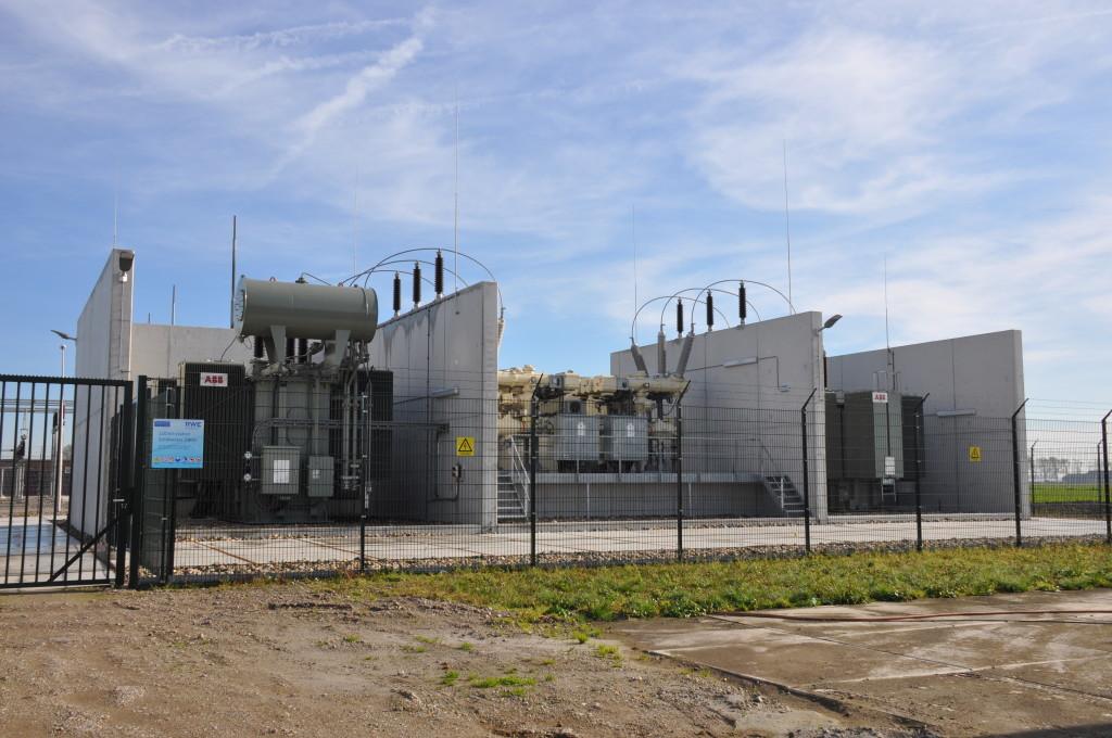 Het RWE 110 kv-station