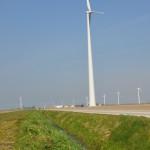 Windmolens in Gelderse Winssen Ewijk