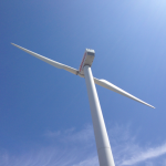 Scheveningse Duinvogel windturbine ontmanteld