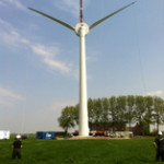 EWT Direct Wind schaalt Groningse windturbine op