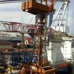 Megaschip tbv windparken gedoopt