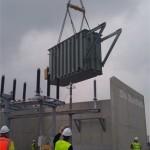 Transformator geplaatst in Zeewolde