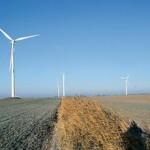 Groot windpark Friesland langs A7 bij Cornwerd