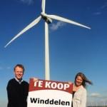 Stroom opgewekt met eigen 'stukje' windmolen levert flink voordeel op