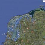 Overzichtelijke kaart met windparken