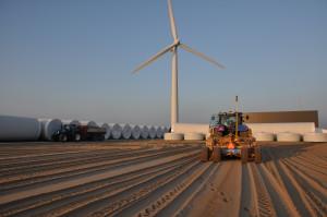 Windpowercentre Harlingen loonbedrijf Westra