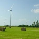 Franse windmolen verliest wiek