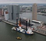 Build offshore wind farm Norther in Belgium with renewed Aeolus
