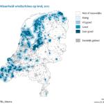 20% Nederlandse landschap bezet door windmolens