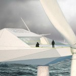 Bulgaarse architect ontwerpt windturbine-appartement