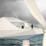 Bulgaarse architect ontwerpt windturbine-appartement