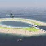 Aanleg Energie atollen voor windenergie in zee