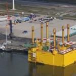 Drijvend 'stopcontact' windmolens naar Eemshaven