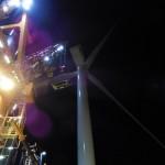 1e windturbine windpark Luchterduinen geplaatst