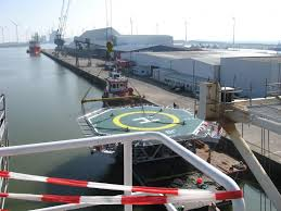 Helikopter-platform Eemshaven omstreden