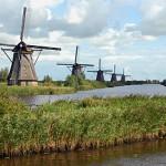 Geen windturbines bij Kinderdijk