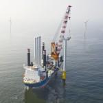 Windpark Luchterduinen wekt 1e groene stroom op