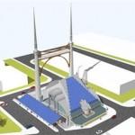 Moskee maakt gebruik van windenergie