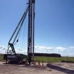 Bouw windpark Noordoostpoler is gestart