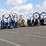 Racing Aeolus start in Den Helder