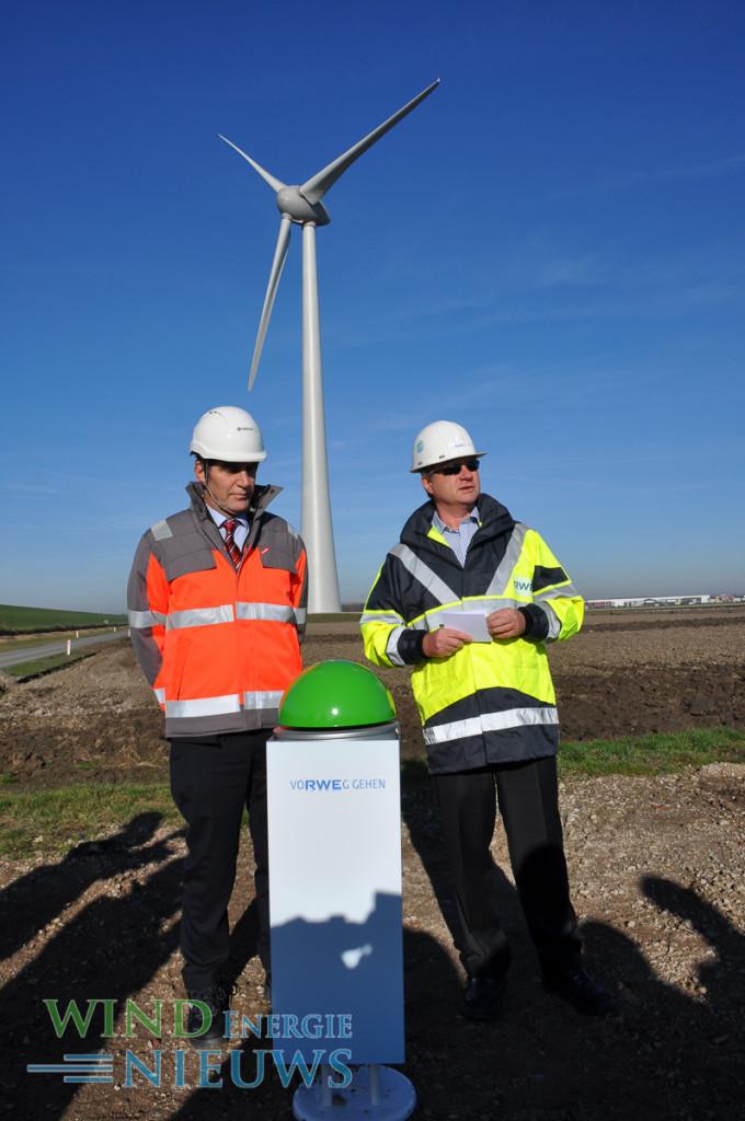 CEO Enercon Kettwig en CEO RWE Bunting