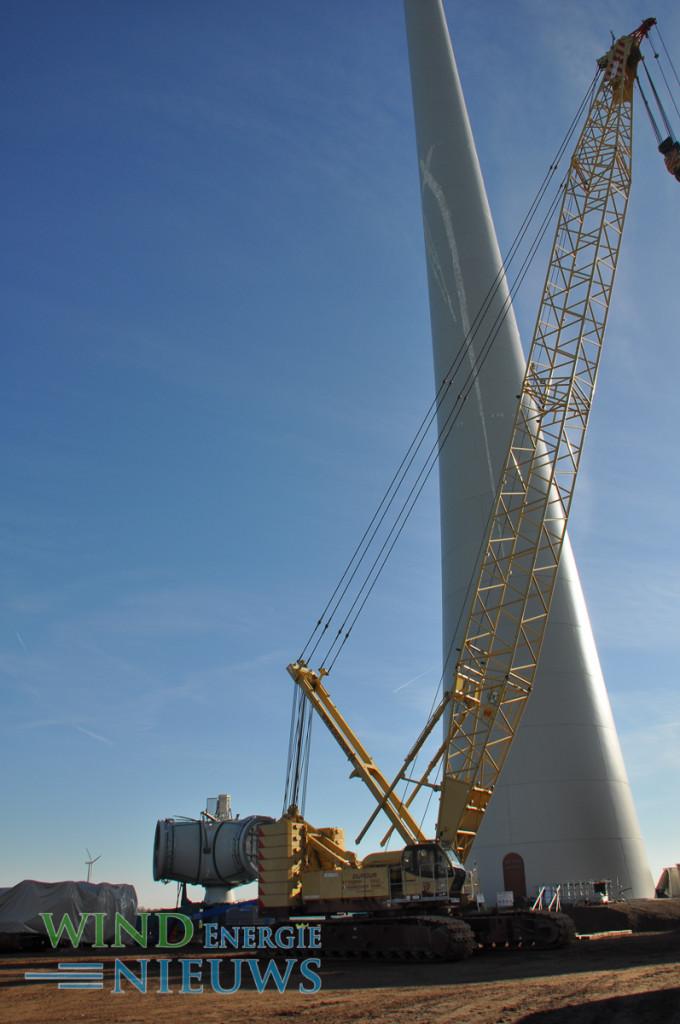 Installatie Enercon E-126, 7.5. MW windturbine