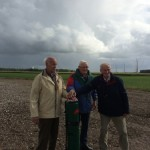 1e windmolen windpark Noordoostpolder produceert stroom
