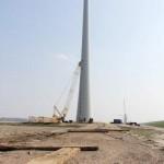 Funderingen windpark Zuidwester zijn klaar