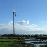 Windmolens Giessenburg worden gebouwd