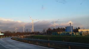 windturbine snelweg